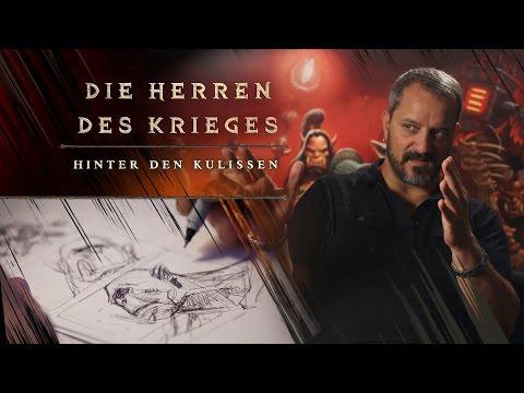 Hinter Den Kulissen Von Herren Des Krieges: Kunst