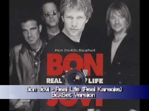 Bon Jovi - Real Life (Real Karaoke)