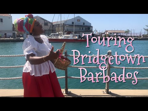 Touring Bridgetown, Barbados
