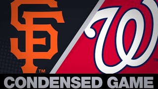 Condensed Game: SF@WSH - 4/18/19