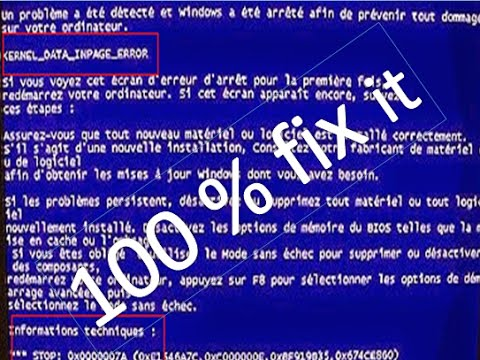 kernel data inpage error windows 7 fix | kernel data inpage error windows 7 0x0000007a