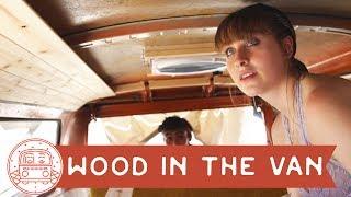 VW Bus: Installing a Cedar Ceiling #vanlife