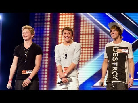 GMD3's audition - Boyz II Men's I'll Make Love To You - The X Factor UK 2012