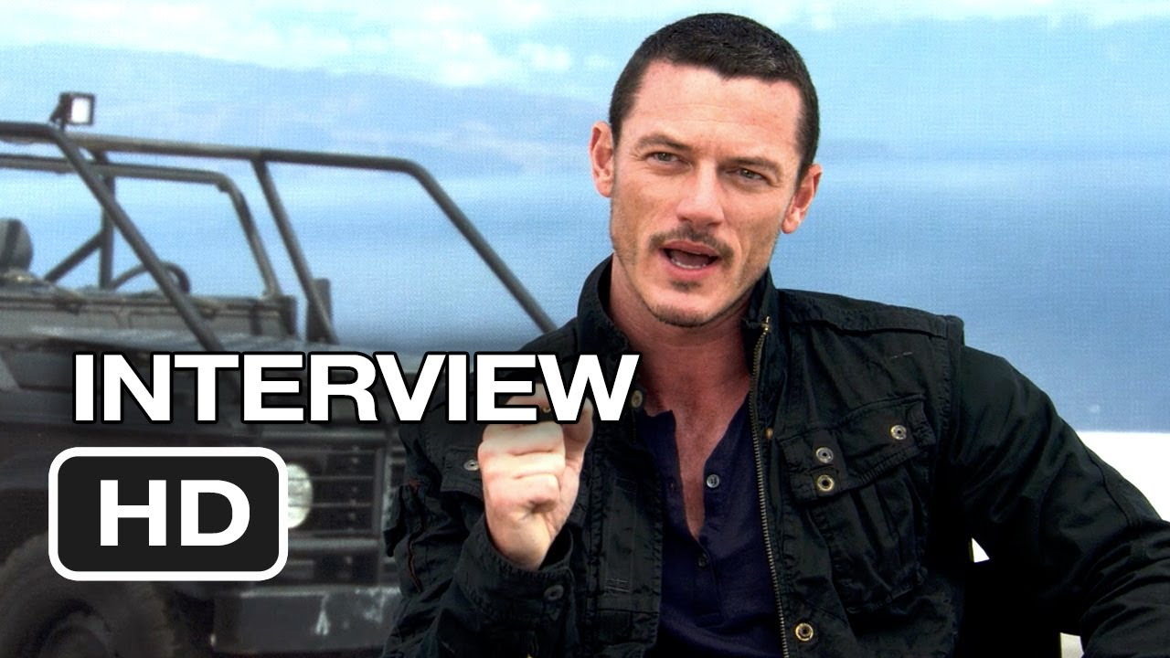 Fast & Furious 6 Interview - Luke Evans (2013) - Dwayne ...