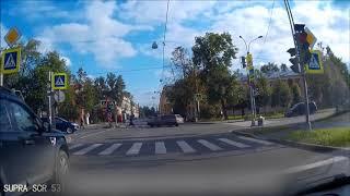 Видео с регистратор осень 2017