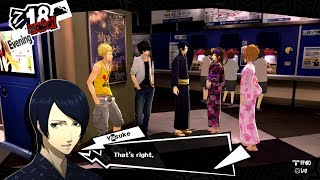 Video Persona 5 - Yusuke get hit on by Girls and Ryuji gets Roasted! HQ download MP3, 3GP, MP4, WEBM, AVI, FLV Desember 2017