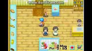 Harvest Moon: Friends in mineral town Ep1: Throwing puppies into lakes