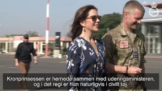 H.K.H. Kronprinsesse Mary besøger Hjemmeværnets soldater i Mali