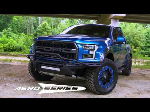 FAB FOURS NEW AERO SERIES BUMPER ON THE 2017 FORD RAPTOR