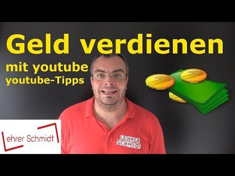 Youtube-Tipps: Geld verdienen mit Youtube