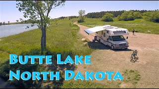 Crown Butte Lake Free Camping in Bismarck, ND