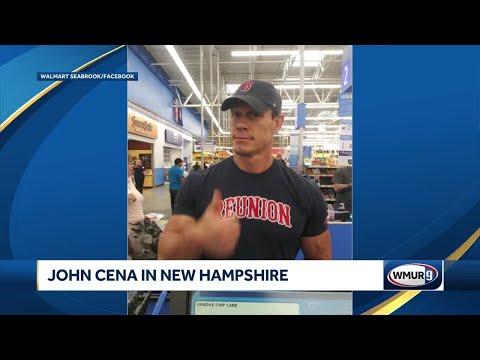 John Cena seen shopping in New Hampshire - YouTube