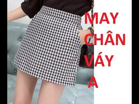 MAY VÁY CHỮ A | may váy chữ a | B25 – Phương Đàowww
