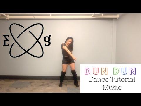 Dun Dun by Everglow Dance TUTORIAL (Music&Mirrored) | Felicia Tay