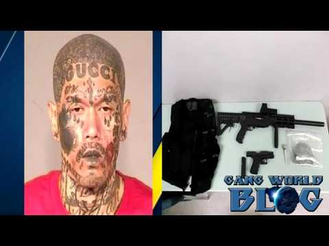 Blood Gang Member pulled over in Fresno traffic stop leads to drug and gun bust