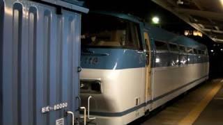 EF66形電気機関車115号機、運用のワム380000形貨車・製紙...