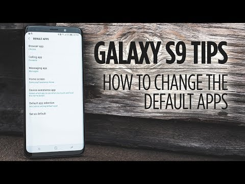 Samsung Galaxy S9 Tips - How to Change the Default Apps Mp3