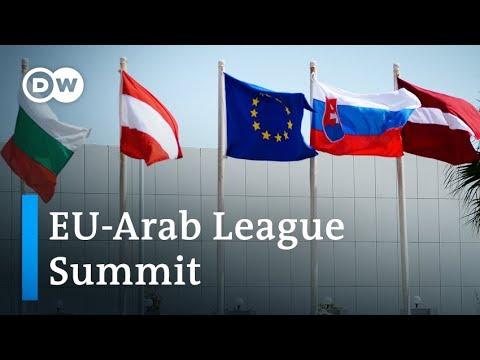 EU-Arab League Summit: What's on the agenda? | DW News