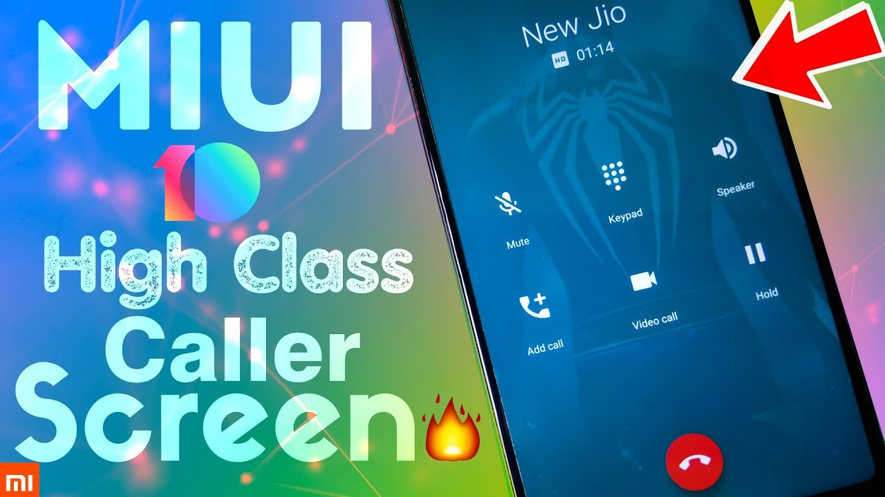 MIUI 10 Change Incoming/Outgoing Calling Screen ! BEST CALLER SCREEN MIUI  10 ! NO ROOT by RjSurajTech