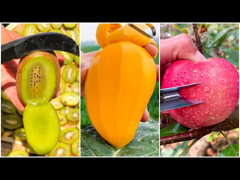 😍Farm Fresh Ninja Fruit | Tik Tok China | (Oddly Satisfying