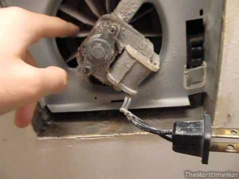 Bathroom fan bypass trick shaded pole motors inductors