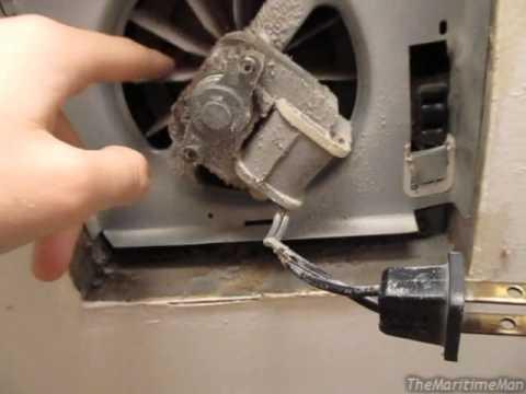 Bathroom fan bypass trick shaded pole motors inductors