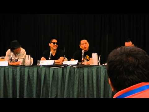 "Dragon Con 2013 ""Asian Americans in Entertainment"" Panel Part 1/3"