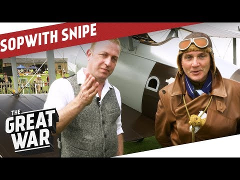 The Sopwith Snipe - WW1 Pilot's Gear I THE GREAT WAR Special