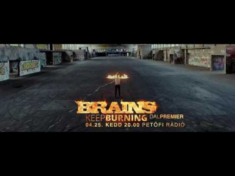Brains - Columbo + Keep Burning interjú a Petőfi Rádión - 2017.04.25