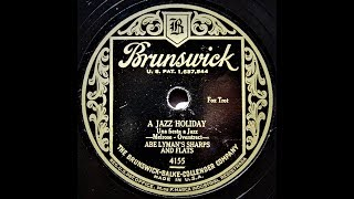 A Jazz Holiday - Abe Lymans Sharps and Flats (1928) YouTube Videos
