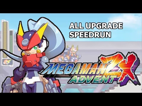 [NDS] Megaman ZX Advent: No Damage Run (All Item Upgrade)