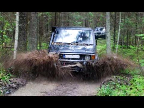 "DEEP MUD OFF ROAD Landcruiser 70, Pajero, Suzuki Samurai  ""Algio takais 4x4""  2013"