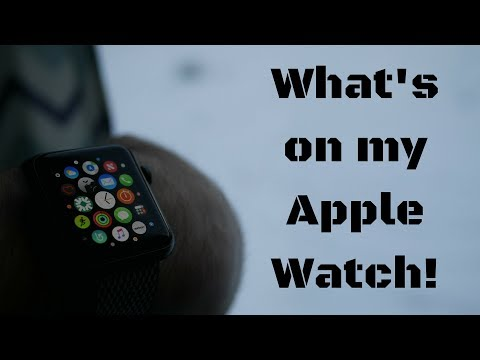 What's on my Apple Watch!