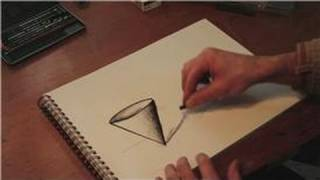Drawing Practice : How to Draw Solids: Cones