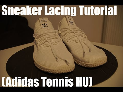 Lacing Tutorial (for Adidas Tennis HU)