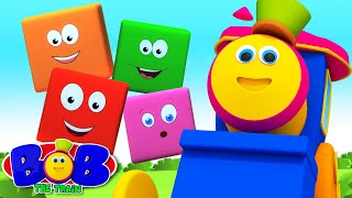 Colors Song | Learn Colors | Color Train | Bob The Train | Kids Tv | Children Songs
