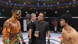 Hell Dragon vs. Bruce Lee (EA Sports UFC 2) - CPU vs. CPU
