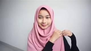 Tutorial hijab syar'i by @fifarasol