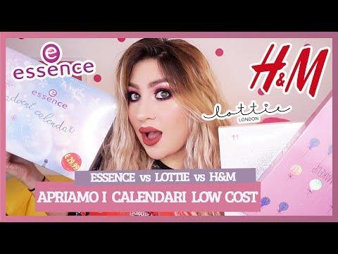 APRO NUOVI CALENDARI DELL' AVVENTO LOW COST! 🎄 ESSENCE, H&M, LOTTIE