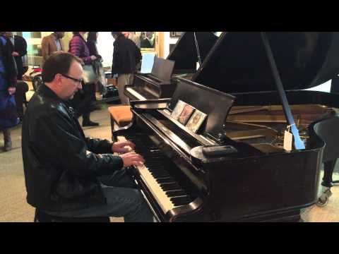 Elton John on Caribou Studio Steinway Piano played by Jeff Van Devender