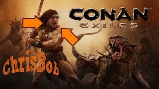 CONAN EXILES INTERVIEW, GAME PLAY AND TRAILER WITH JENS ERIK FROM FUNCOM