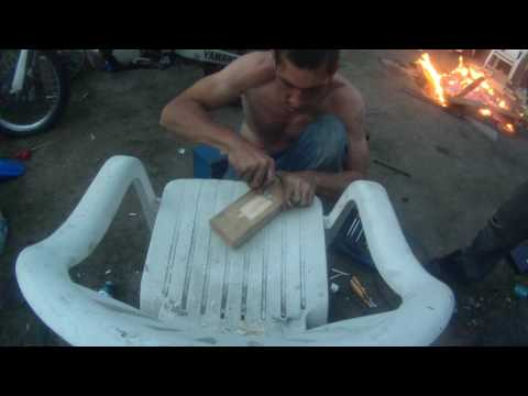 aluminum casting an exhaust bracket for yz250