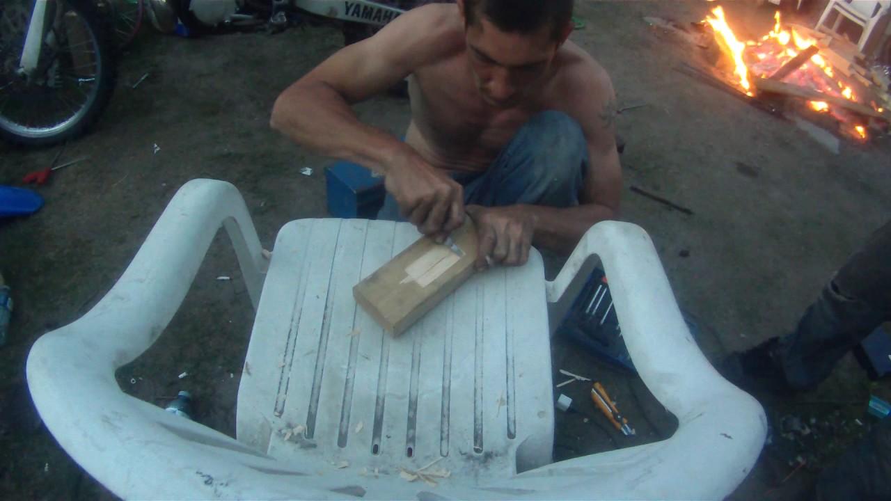 aluminum casting an exhaust bracket for yz250 youtube