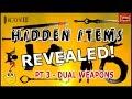 Infinity Blade 3: HIDDEN DUAL WEAPONS REVEALED! (Part 3 Hidden Items Series)