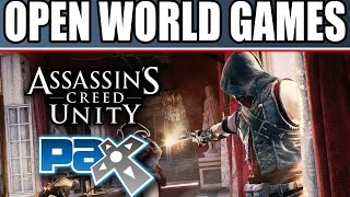 pax prime 2014 new gameplay trailers soon assassin s creed unity ac rogue far cry 4 and the crew