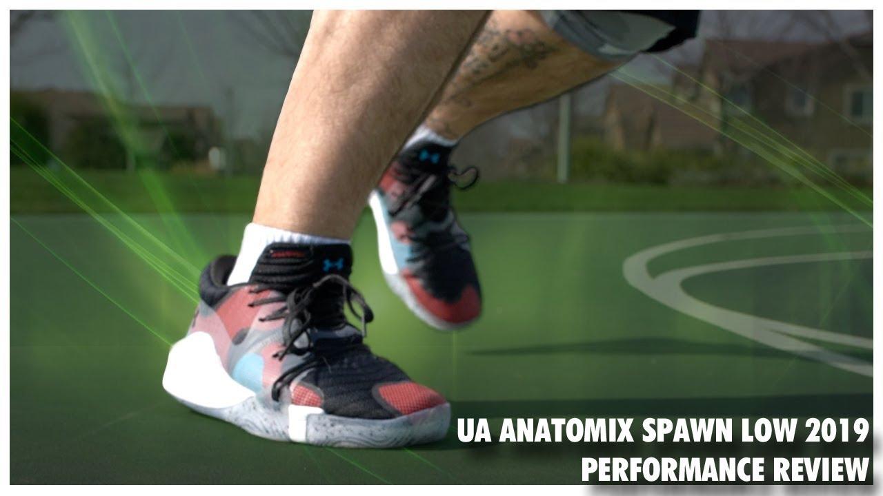 ua anatomix spawn low basketball shoes