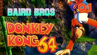BAD LUCK!   Donkey Kong 64 Multiplayer Part 1