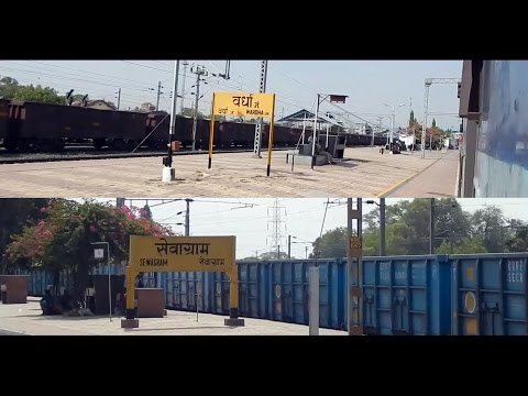 Departure from Wardha Junction and full coverage till Sewagram : Indian Railways
