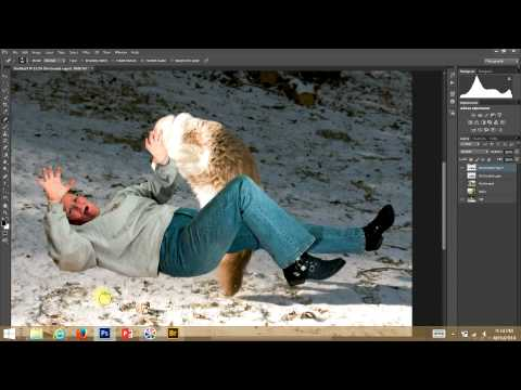 Creating a Composite Photo Using Photoshop CS6