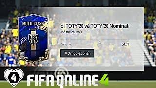 FIFA ONLINE 4: MỞ THẺ 20TOTY & TRẢI NGHIỆM NGÀY ĐẦU MÙA 20TOTY SAU BIG UPDATE, GAMEPLAY MỚI